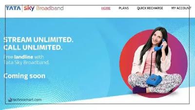tata sky broadband service