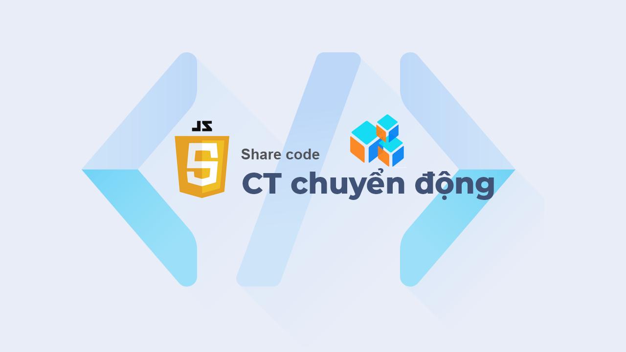 Đề tài - Xây dựng chương trình chuyển động của 3 hình vuông viết bằng JavaScript