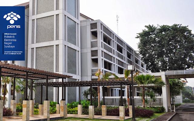 Informasi Pendaftaran Mahasiswa Baru (PENS) Politeknik Elektronika Negeri Surabaya 2019-2020