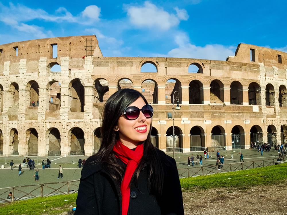 Visita ao Coliseu Roma