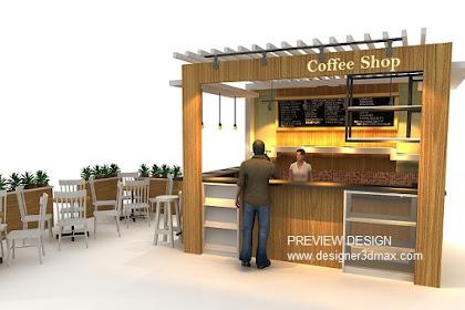 Jasa Desain Coffee Shop Minimalis Cepat Murah Berkualitas