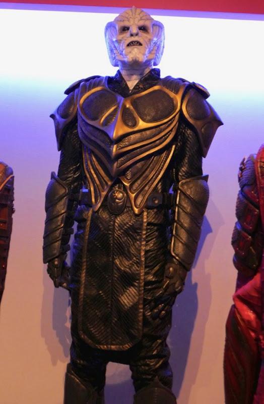Dylan Kenin Orville season 1 Krill Captain Haros costume