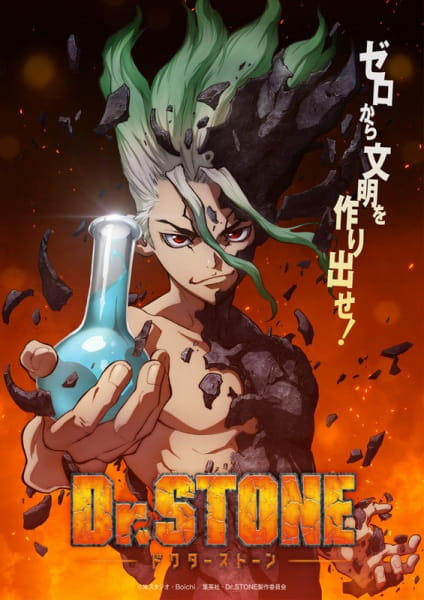 Dr. Stone Anime Key Visual