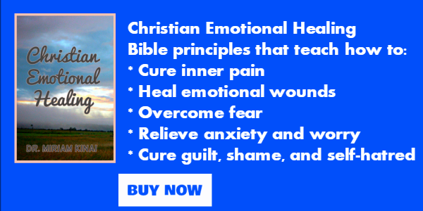 Christian emotional healing book