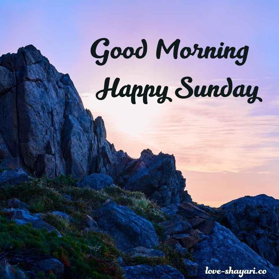 happy sunday good morning images