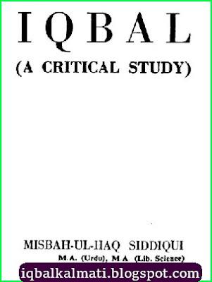 Iqbal A Critical Study