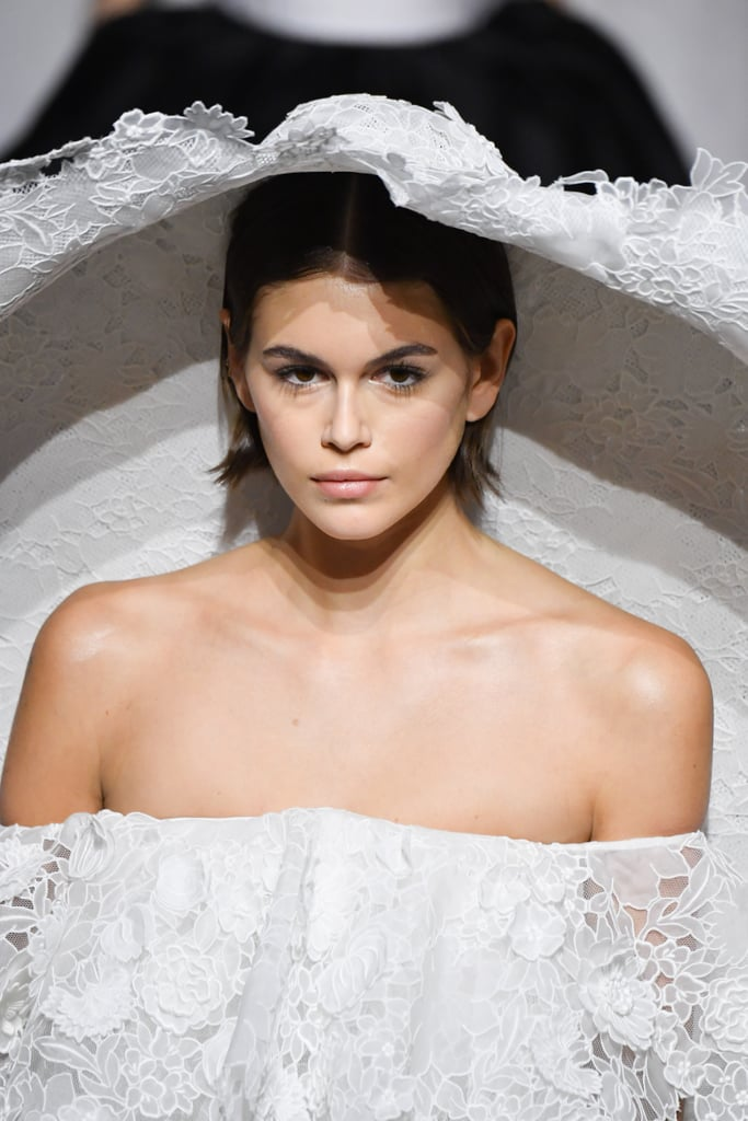 Kaia Gerber Givenchy Haute Couture Wedding Dress