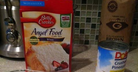 Heavenly Pineapple Angel Food Cake Quick Recipes
