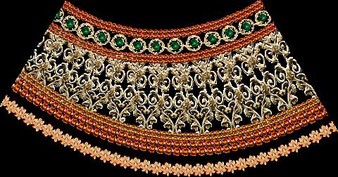 Textile-print-jwellery-border-7013
