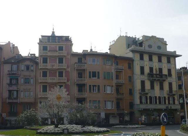 scorcio del centro storico di santa margherita ligure