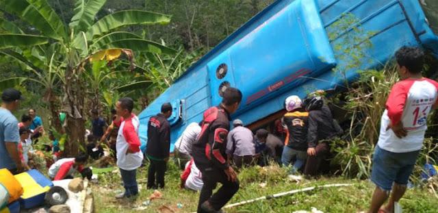 Tragis! Kecelakaan Bus Sukabumi: 21 Tewas, 11 Luka Berat
