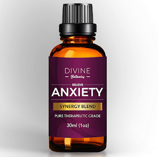 Divine Botanics Anxiety Relief Pure Essential Oil