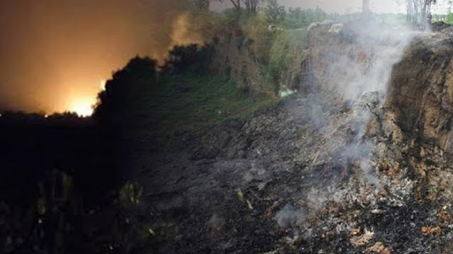 Warga Lihat Bola Api Melayang Sebelum Ledakan Keras di Mojokerto
