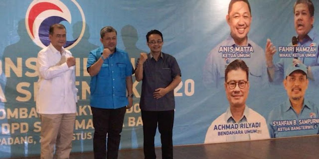 Prabowo Ingin Anis Matta Cawapres 2019 Buat Gelora Dukung Gerindra di Sumbar
