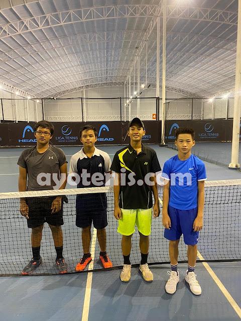 Putra Suyadi dan Ingvar Rusli Melaju ke Final Liga.Tennis National Junior Championship
