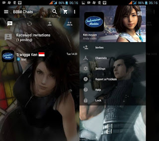 BBM MOD Final Fantasy Mix terbaru