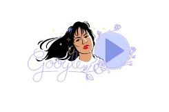 Google recuerda a Selena con un Doodle