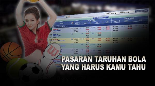 Pasaran Taruhan Bola Online Yang Kamu Harus Tahu