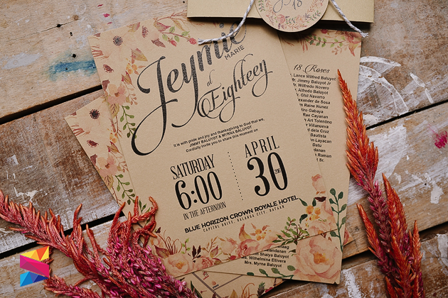 Pocket Wedding Invitation with luxury invitations design