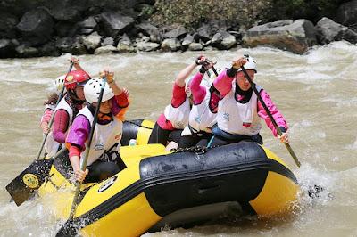 Tempat Wisata Rafting Arum Jeram di Bogor