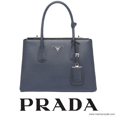 Crown Princess Mary carried Prada Saffiano Bag