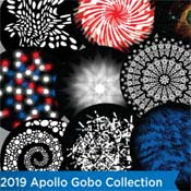 APOLLO 2019 New Gobo Patterns