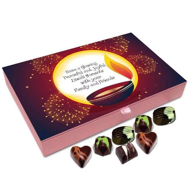 Personalised chocolates diwali gifts