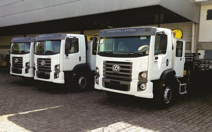 FBF Engenharia adquire quatro caminhões VW para prestação de serviços à Prefeitura de São Paulo