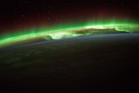 Aurora Seen From The ISS