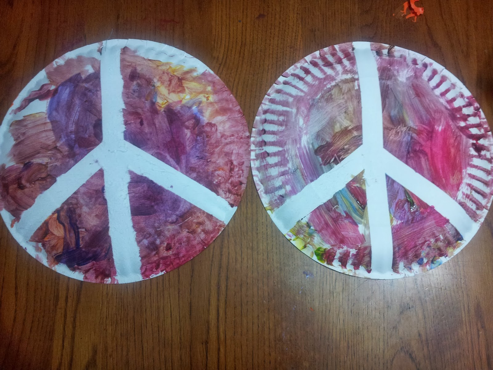 Working Mom Wonders Peace Craft For Martin Luther King