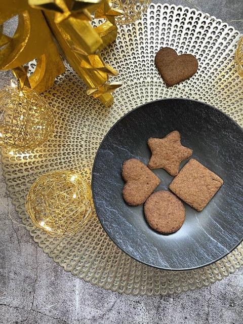 Biscuits de Noël IG bas - façon Speculoos