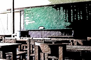 イメージ画像として、教室のスケッチを表示しています。