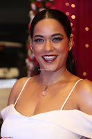 Mumaith Khan Spicy pics in Deep Neck White Gown at Zee Telugu Apsara Awards 2017 02.JPG