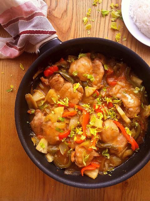Kurczak po hawajsku / Hawaiian Chicken