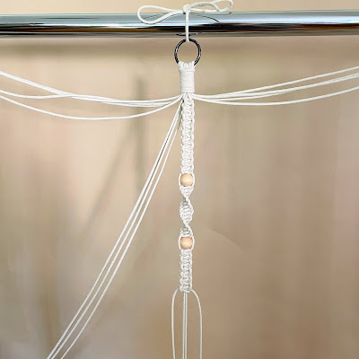 Best Short Macrame Plant Hanger with Beads Instructions