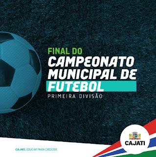 Final da primeira divisão pelo Campeonato Municipal de Futebol