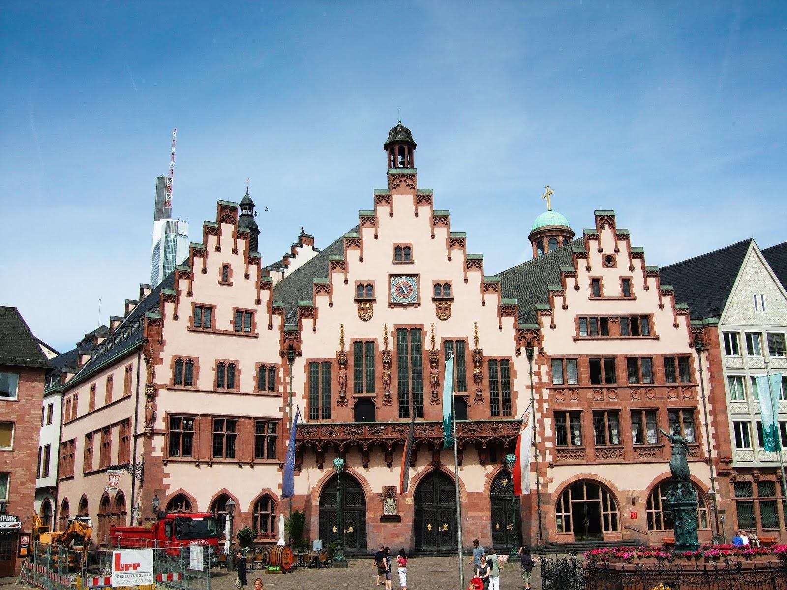 [遊記] 德國 - Römer Plaza (羅馬廣場), Frankfurt am Main