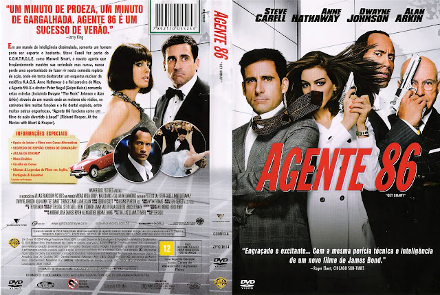 Capa DVD Agente 86