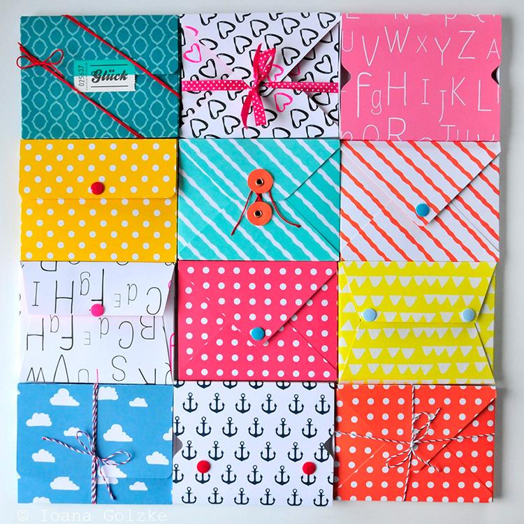 miss red fox diy tutorial wie bastelt man 4 varianten einer postkarten box. Black Bedroom Furniture Sets. Home Design Ideas
