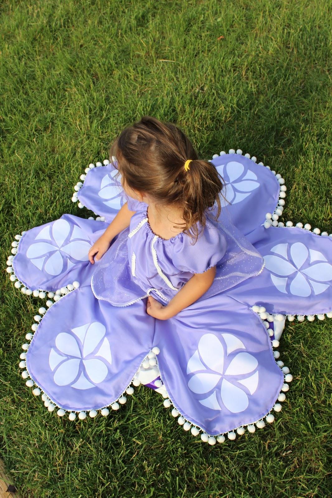 Jillian Sews Sofia The First Dress