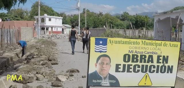 Habla alcalde Rafael Hidalgo: Presidente, mire para Azua!...