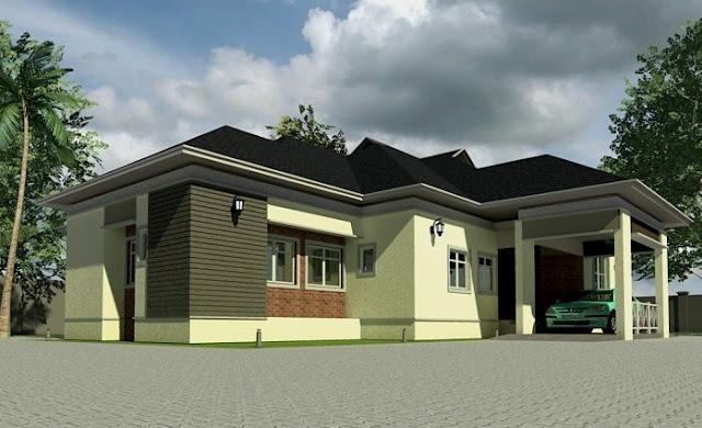 Gambar desain hunian mewah pada rumah idaman 1 lantai - Desain Rumah Idaman