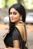 Poorna in Cute Backless Choli Saree Stunning Beauty at Avantika Movie platinum Disc Function ~  Exclusive 034.JPG