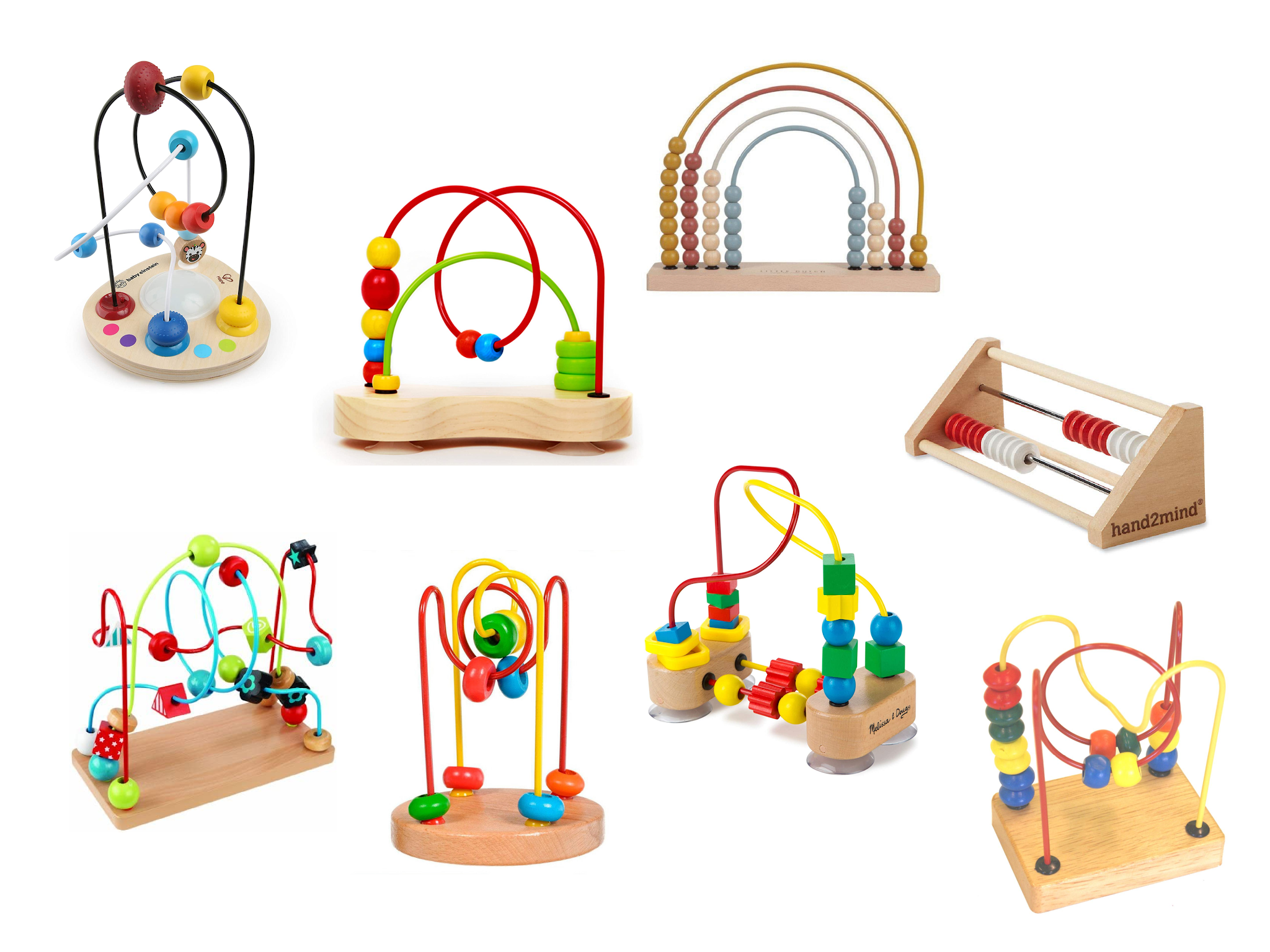Bead movers are a wonderful Montessori baby activity. Here are some options and ideas to look for when considering a bead mover for your baby.