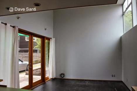 Sala de estar de casa pequeña diseño contemporáneo