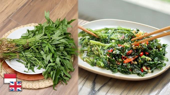 Mantap! Resep Kangkung Dua Rasa: KRISPI & Garlic Ala Resto Chinese.