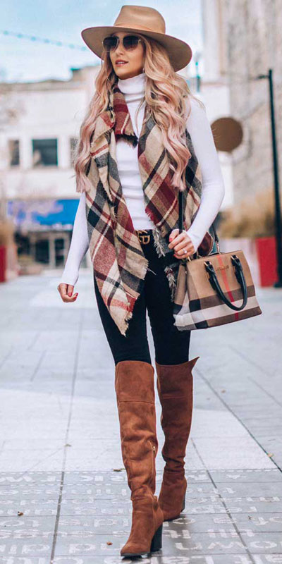 23 Stylish Fall Fashion Ideas for Women Over 30. We've taken the liberty of compiling a list of fall outfit ideas for women over 30. Fall Style via higiggle.com | #fashion #falloutfits #outfits