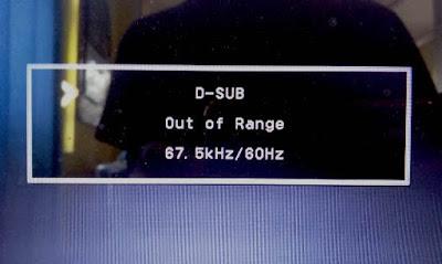 Cara Mengatasi D-SUB OUT OF RANGE di STB B860H