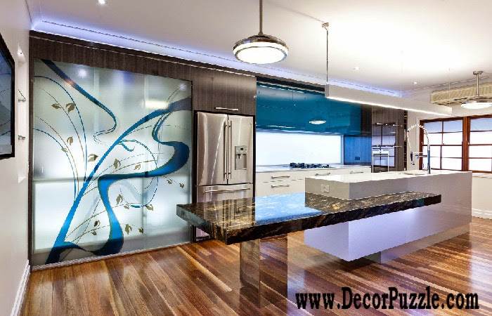 Minimalist kitchen design and style, modern kitchen colors 2018