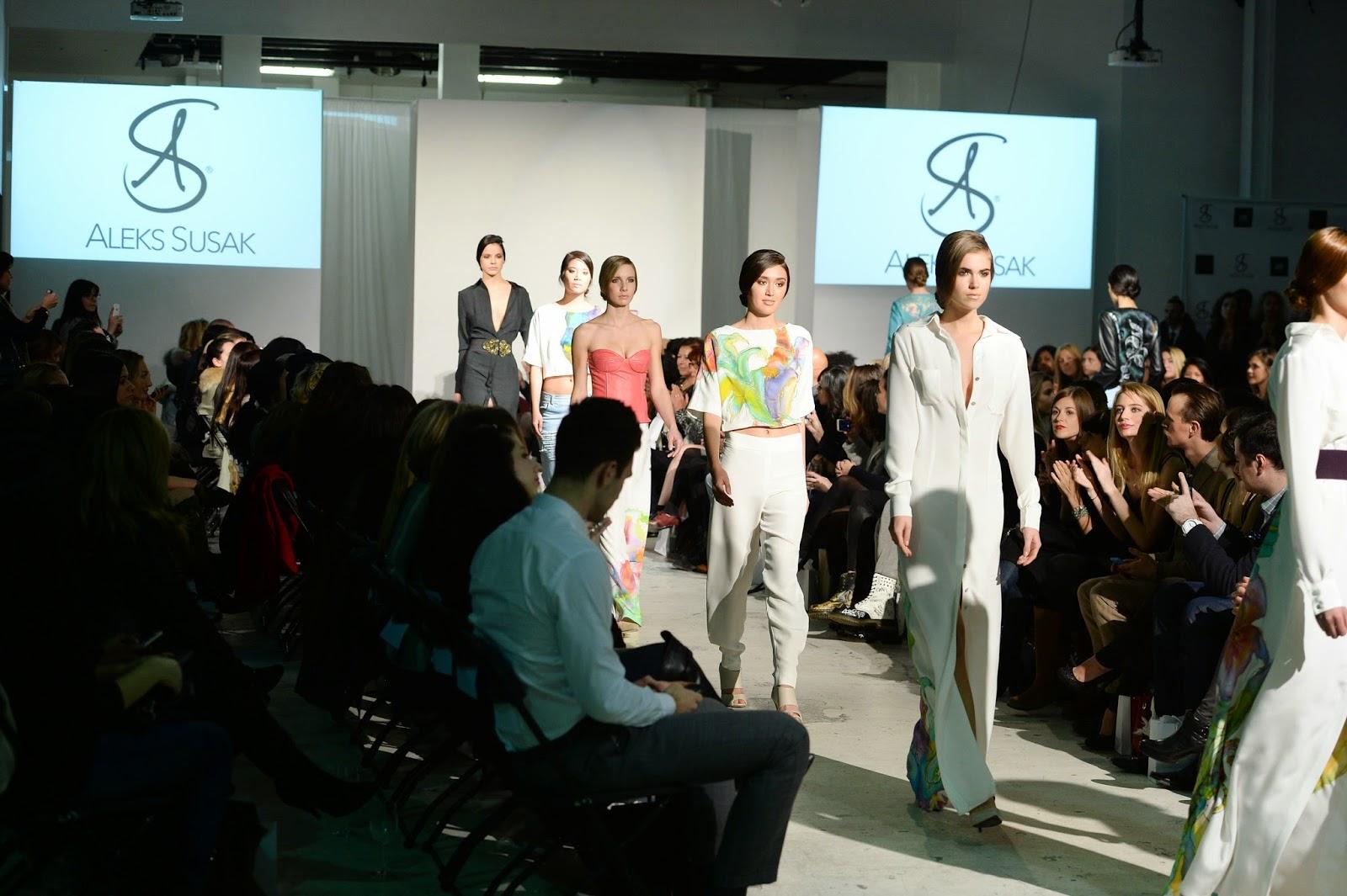 Aleks Susak Fashion Show